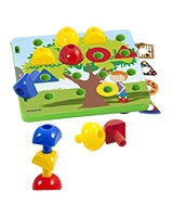 Activity Pegs 18 Pieces - Miniland