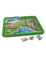 Animal Magnetic Board - Miniland