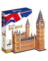 Big Ben 3D Puzzle 117 Pieces - Cubic Fun