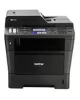 Monochrome Laser MFC And Double-Sided Printing MFC-8510DN - brother