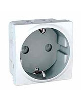 Allegro German Socket-outlet 2P+side E MGU3-037-18 - Schneider Electric