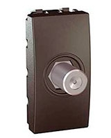 Top/Plus TV/SAT Female Socket-F Type MGU3-468-12 - Schneider Electric