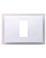 Allegro 1 Modules C. Frame White MGU4-101-18 - Schneider Electric