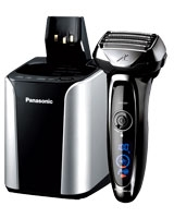 5-Blade Wet/Dry Shaver with Cleaning & Charging System - Panasonic