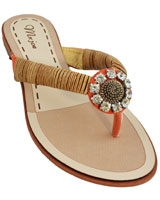 Flat Sandal Beige 3628 - Mr.Joe