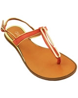 Flat Sandal Orange 3639 - Mr.Joe