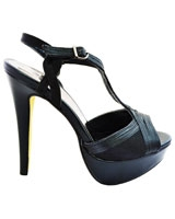 Heeled Sandal Black 3646 - Mr.Joe