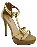 Heeled Sandal Brown 3647 - Mr.Joe