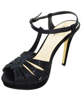 Heeled Sandal Black 3648 - Mr.Joe