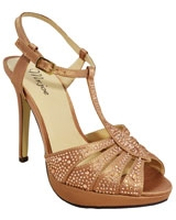 Heeled Sandal Gold 3648 - Mr.Joe