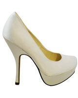 Heeled Sandal White 3649 - Mr.Joe