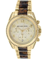 Ladies' Watch Blair Gold Dial Tortoise MK6094 - Michael Kors