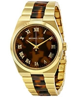 Ladies' Watch Channing Two Tone Tortoise MK6151 - Michael Kors