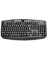 Multimedia Wired Keyboard MT-017M - Media Tech
