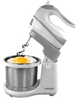 Hand Mixer With Bowl 500 Watt MT-233B - Media Tech