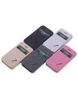 iBeck S-view leather case for iPhone 4