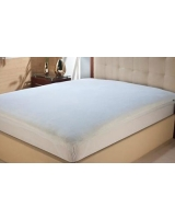 Cotton terry mattress protector fitted - Comfort