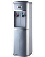 Cold & Hot Water Dispenser With Refrigerator MT-2582LB - Media Tech