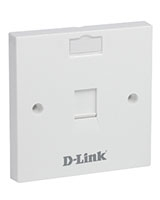 Flat Faceplates NFP-0WHI11 - D-Link