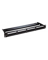 Cat6 UTP 24 Port Loaded Patch Panel NPP-C61BLK241 - D-Link