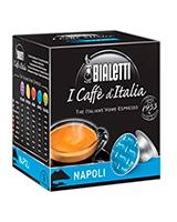 Napoli Bold Dark Roasted 16 Capsules Box Gusto Intenso - Bialetti