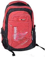 Backpack Black/Red 8131 - Free Book