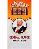 Original Wood Tip 5 Cigars - King Edward