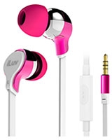 Party On Talk Tangle-Resistant Stereo Earphone - iLuv