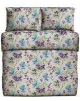 Printed Flat Bed Sheet Viola Design - Best Bed