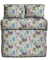 Printed Fitted Bed Sheet Viola Design - Best Bed