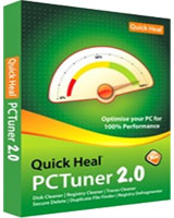 PC Tuner 2.0 1 Year  1 User - Quick Heal