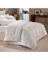 Winter supreme fiber quilt plain white shell - Comfort