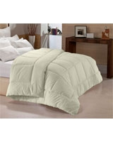 Winter cotton quilt plain cream shell - Comfort