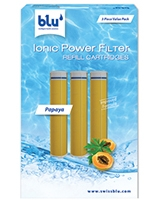 Ionic Power Filter Refill Cartridges Papaya - blu