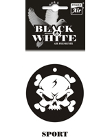 Air Freshener Black And White Sport - Power Air