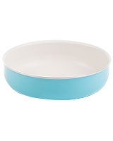 Royal Turquoise Round Oven Tray - Nouval