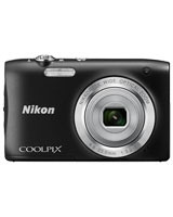 Digital Camera Coolpix S2900 20.1 Megapixels - Nikon + Case + SD Card 8GB