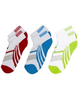 Teens Pack of 3 Socks 6160 Multi-Color - Solo