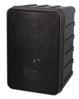"Powered 6 1/2"" 2-Way Molded Speaker SEP207B - Phonic"
