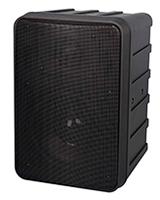 "Powered 6 1/2"" 2-Way Molded Speaker SEP207B - Phonic"