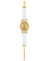 Ladies' Watch White Silk SFK374G - Swatch