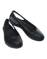 Duet Flat W Black/Charcoal - Crocs