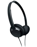 Lightweight Headphones SHL1000 On-ear Black - Philips