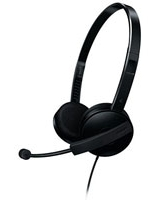 PC Headset On-ear SHM3550 Black - Philips