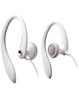 Earhook Headphones White SHS3201 - Philips