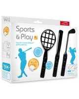 Sports & Play Kit Black for Wii SL-3483-SBK - Speed Link