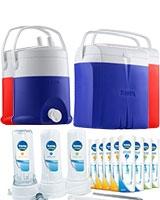 1 Extra Pure 12M Filter + 1 Ice Box 23 Liter + 1 Ice Tank 6 Liter - Tank