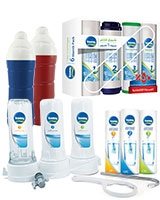 1 Extra Pure 3M Filter + 1 Filter Cartridges Economic Pack + 3 Ice Bottle 1.25 Liter - Tank
