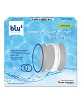 Ionic Power Filter Spare Parts - blu