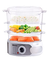Trio Stainless Steel Food Steamer ST16203A - Mienta